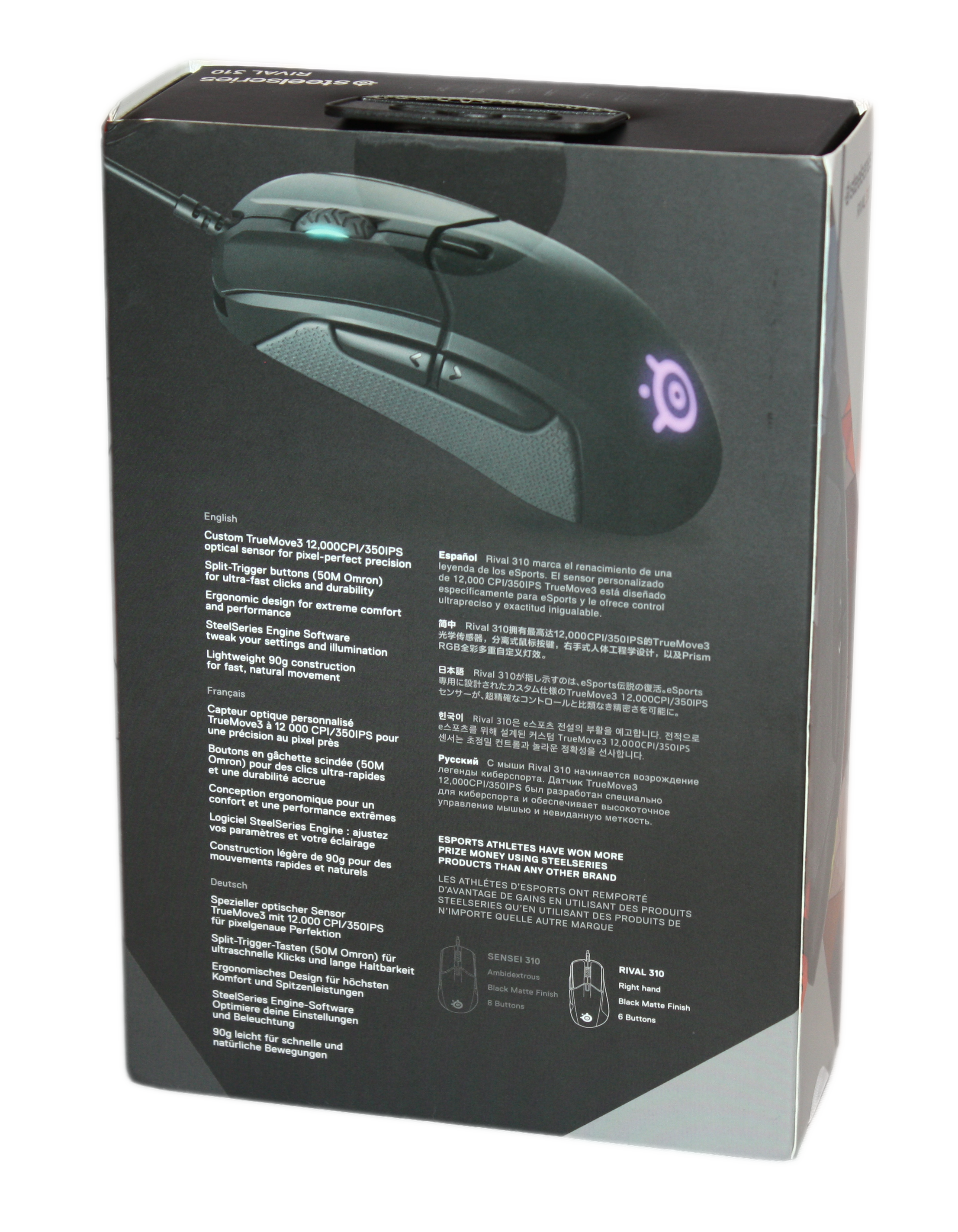 OCN Labs] SteelSeries Rival 310 Mouse Review by William