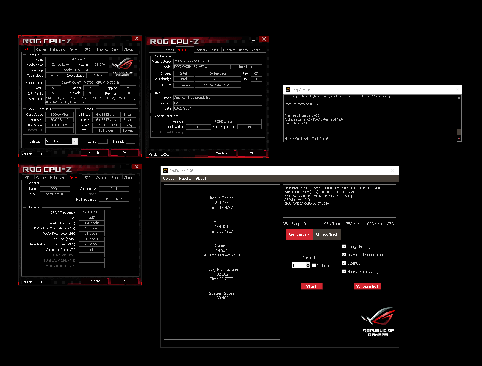 I7 8700k Overclock Results And Settings Page 4 Overclock Net