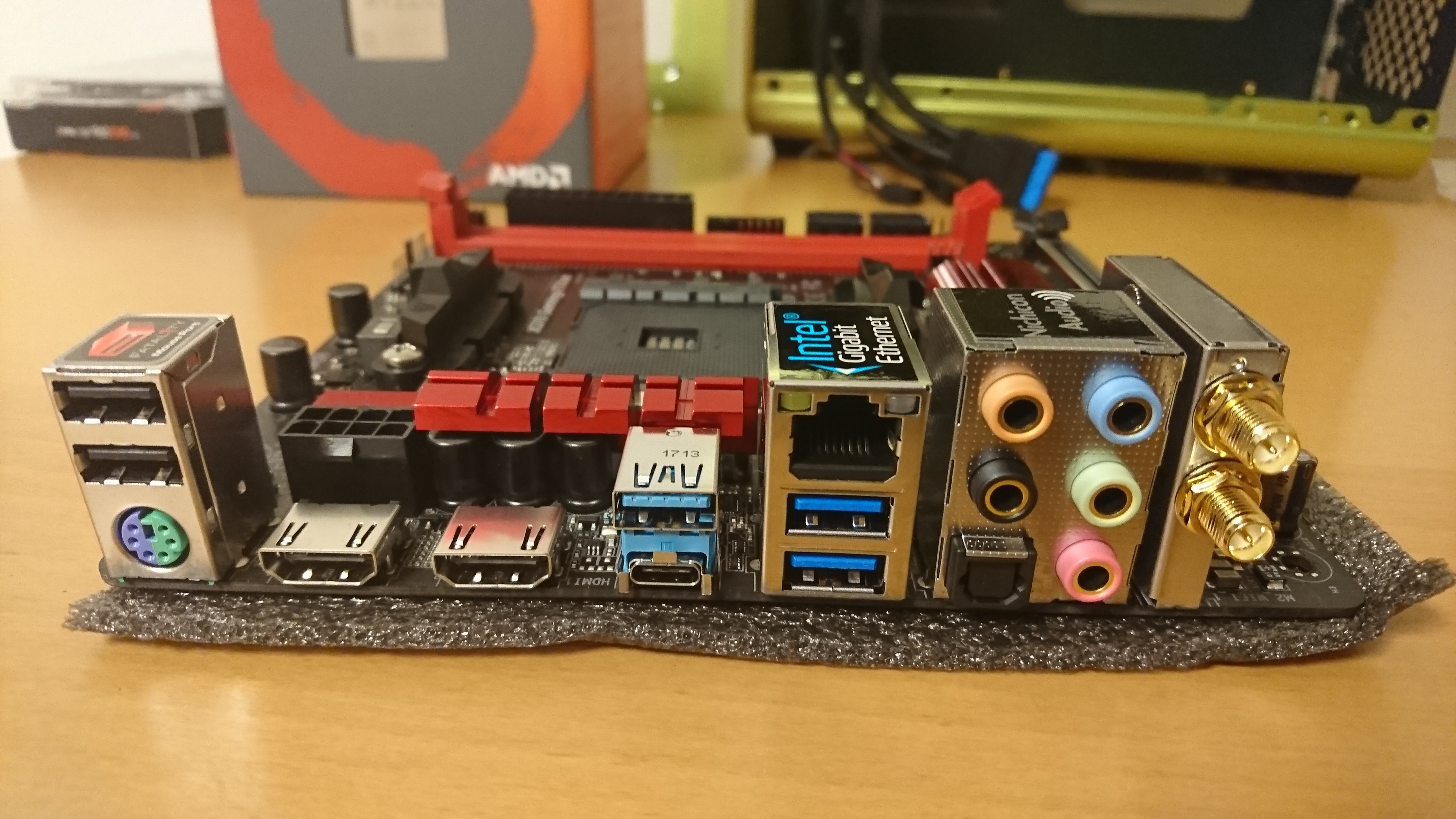 Asrock Fatal1ty X370 Gaming-ITX/ac Motherboard - Page 3 - Overclock