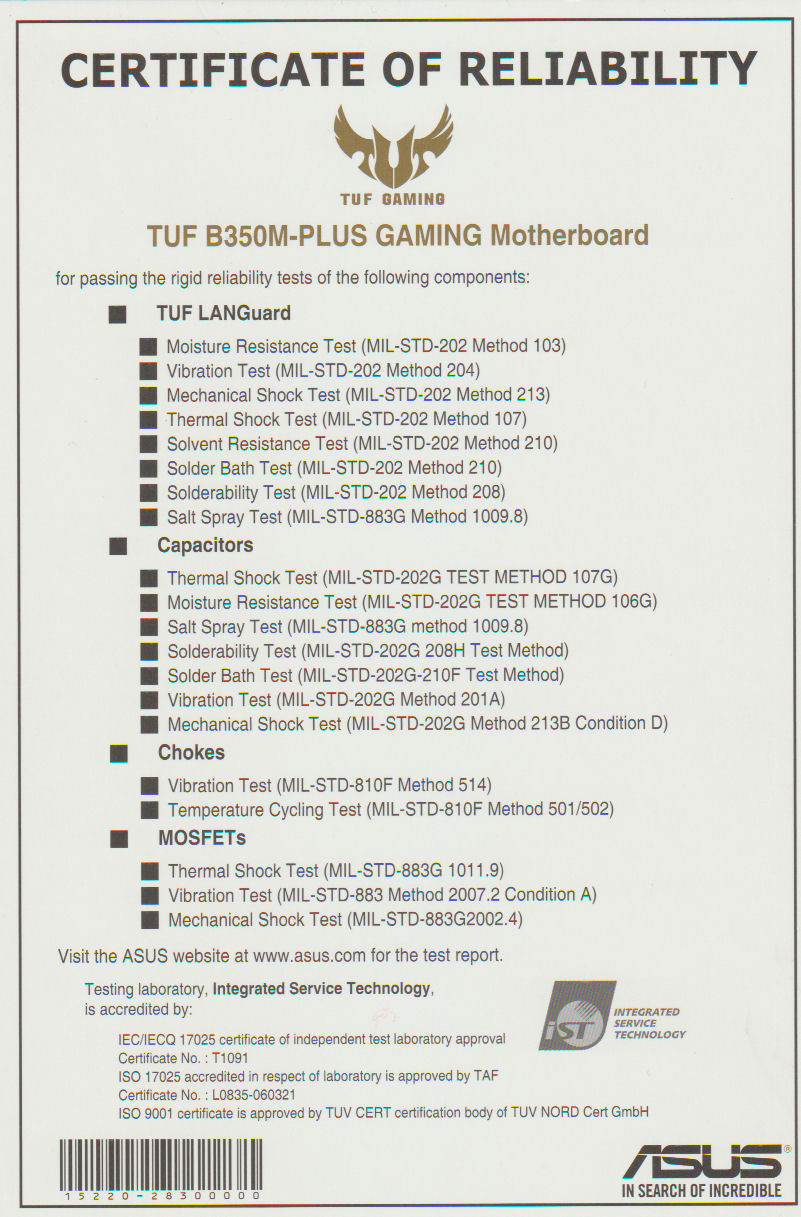 ASUS TUF B350M-PLUS GAMING motherboard review    it doesn't