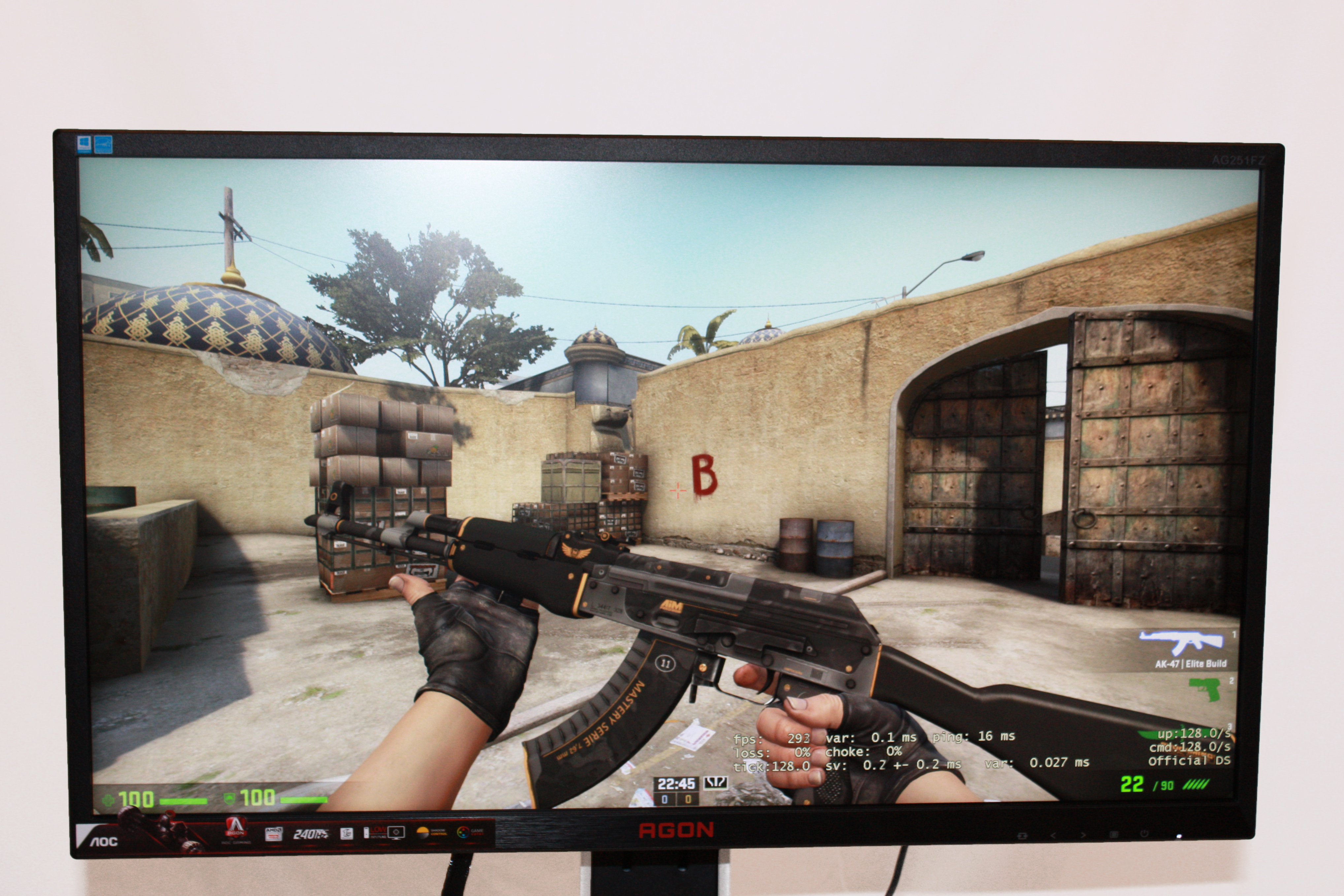 OCN Labs] AOC Agon AG251FZ 240Hz Gaming Monitor Review by William