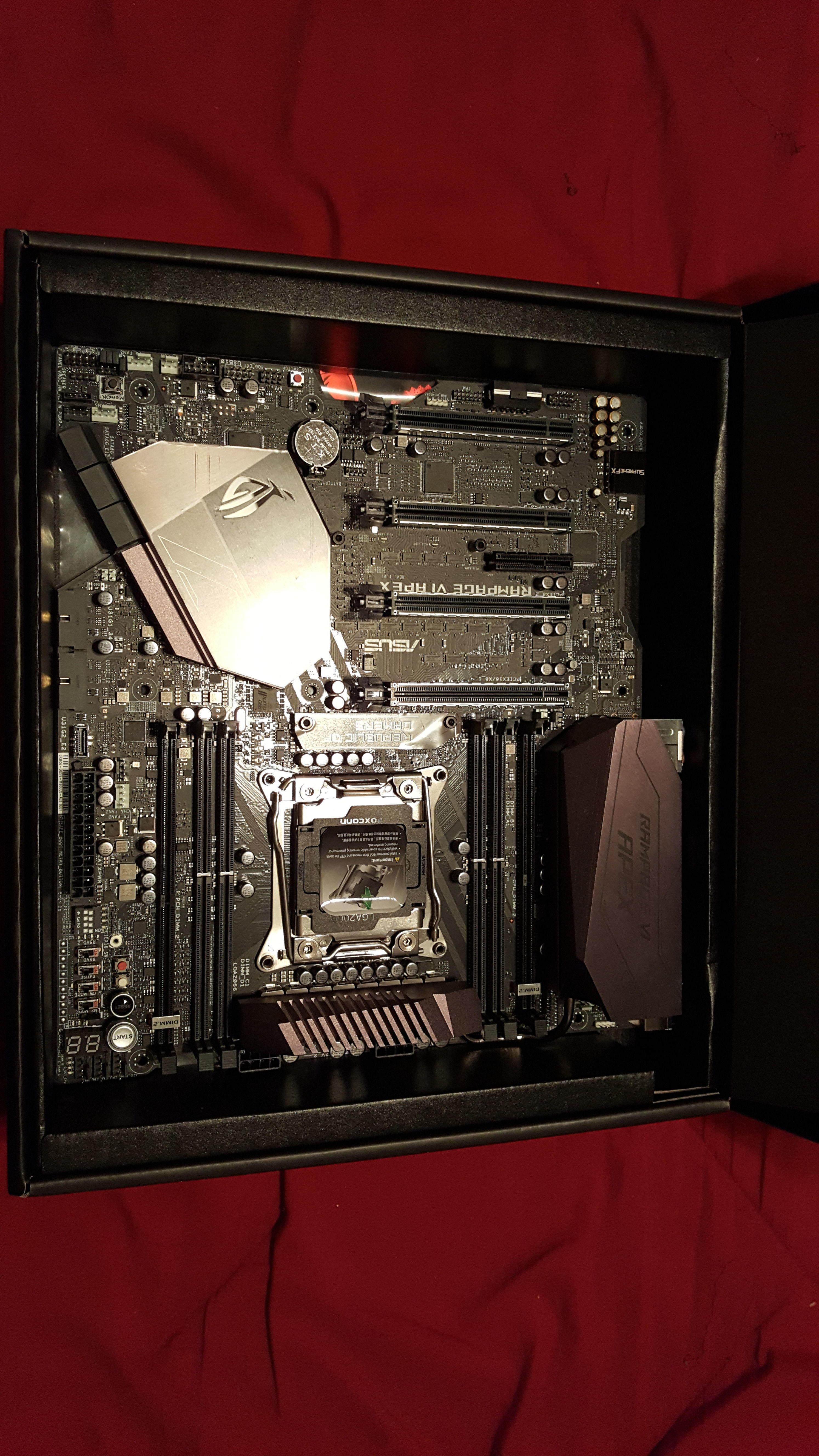 ASUS Rampage VI Apex (x299) Owners - Page 41 - Overclock net - An