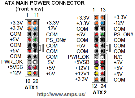 Repository Of Power Supply Pin Outs. - Page 97 - Overclock.net - An ...