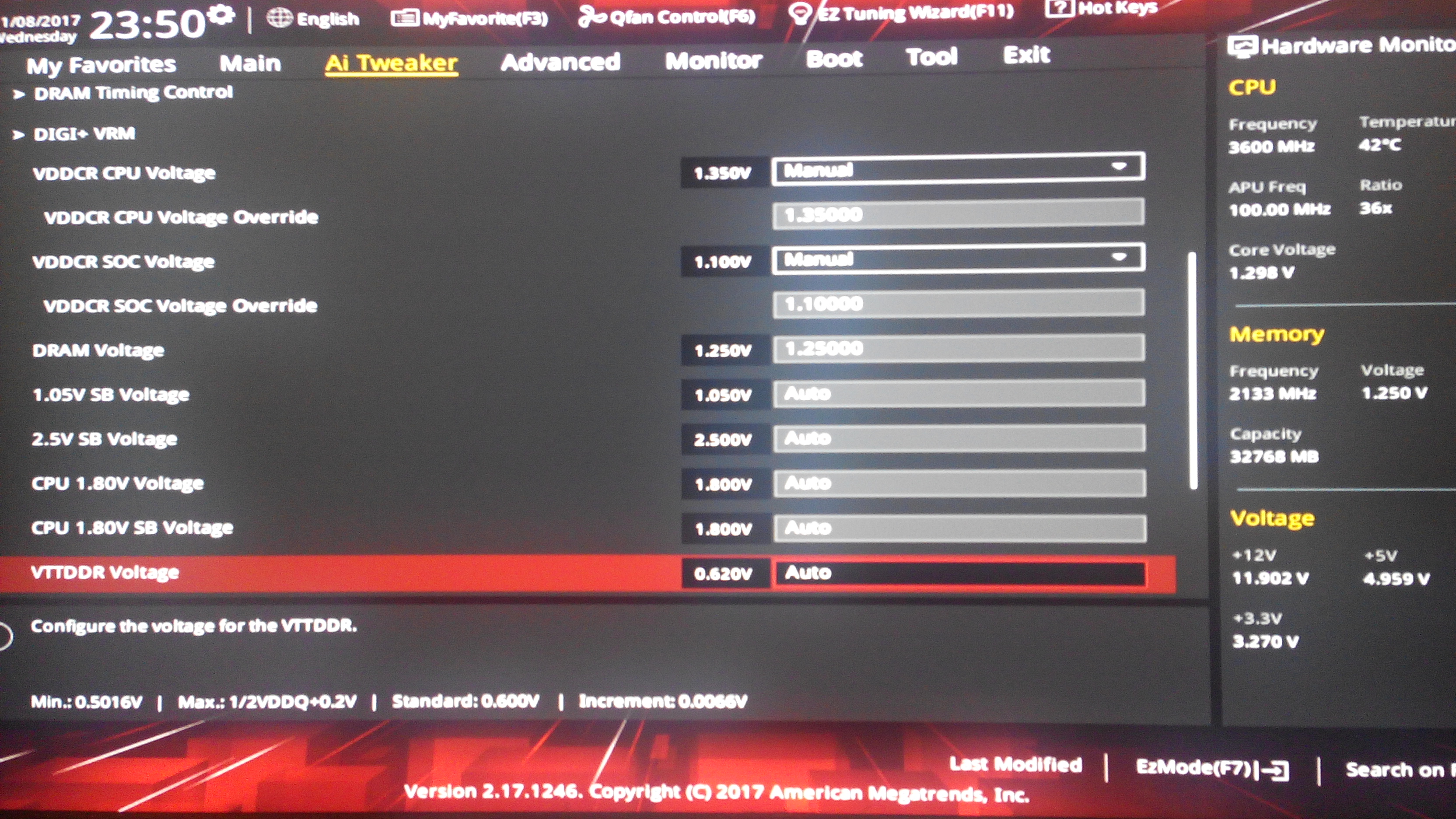 HELP! Ryzen 1700x and 1800x cant overclock any of them at