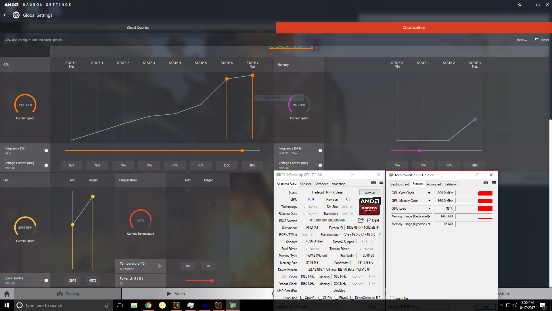 Preliminary view of AMD VEGA Bios - Page 20 - Overclock net - An