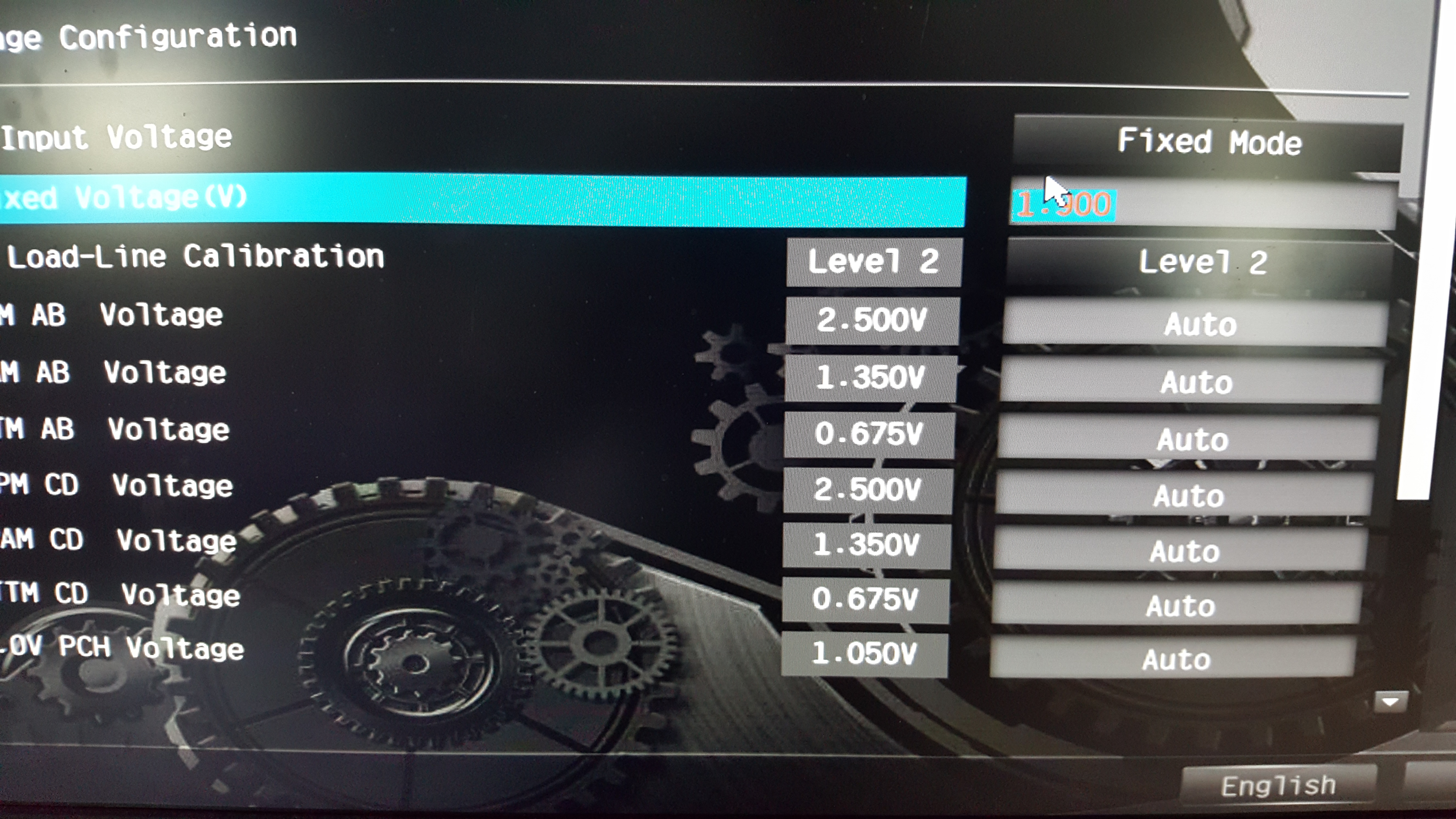 Correct voltage for I9-7900 on X299 Taichi - Overclock net