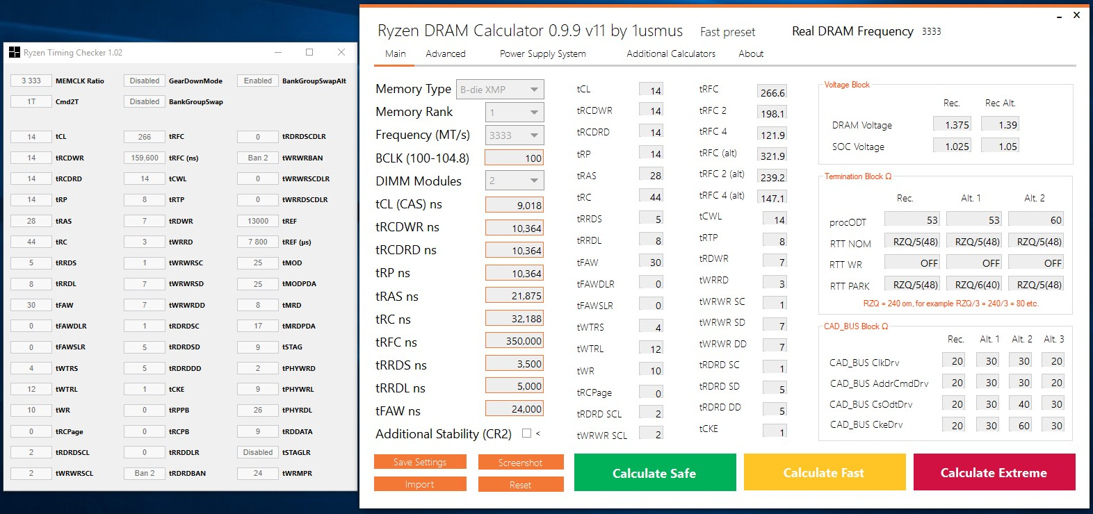 NEW!!! DRAM Calculator for Ryzen™ 1 6 0 3 (overclocking DRAM on AM4