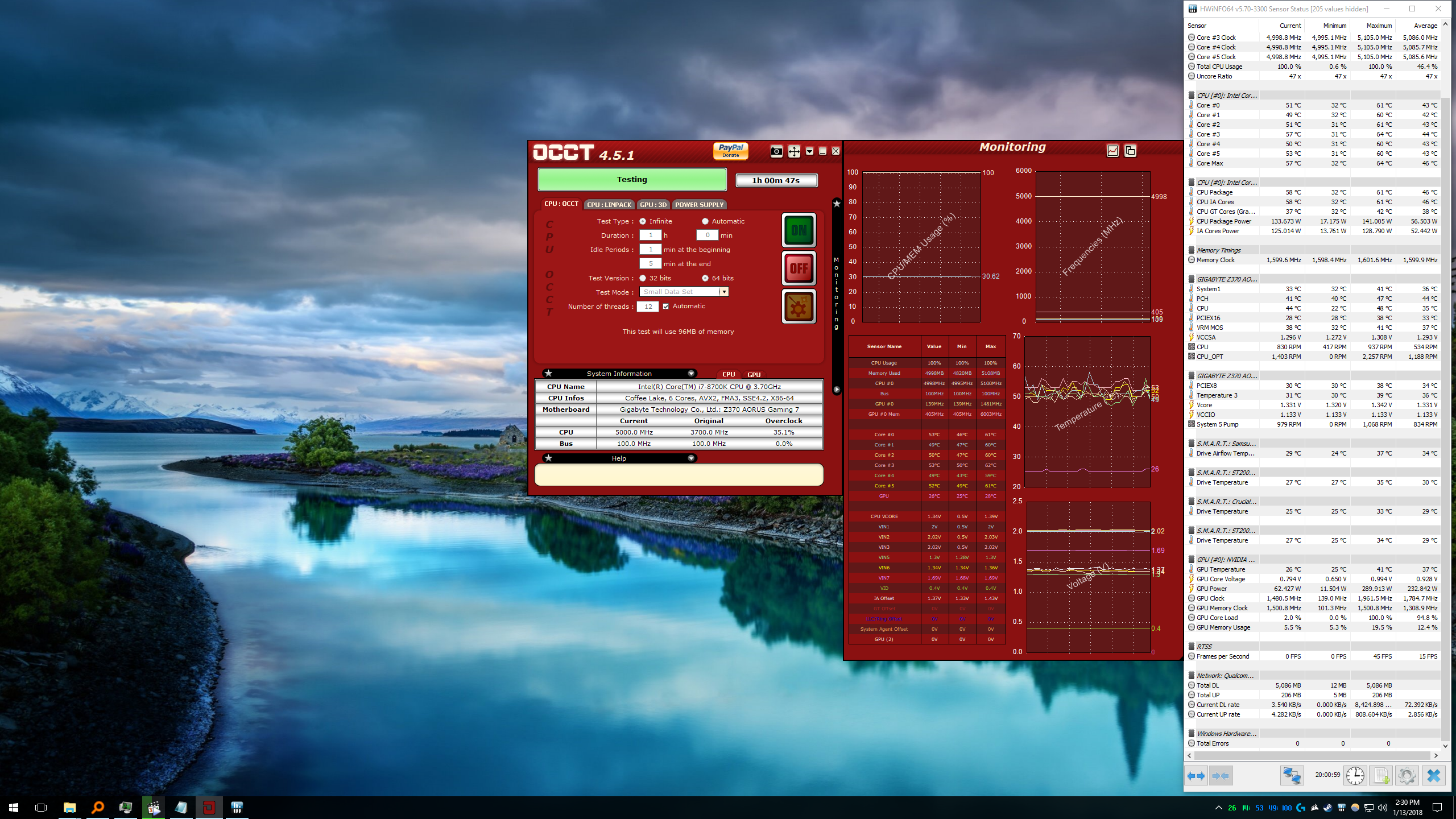 i7 8700k overclock results and settings - Page 229