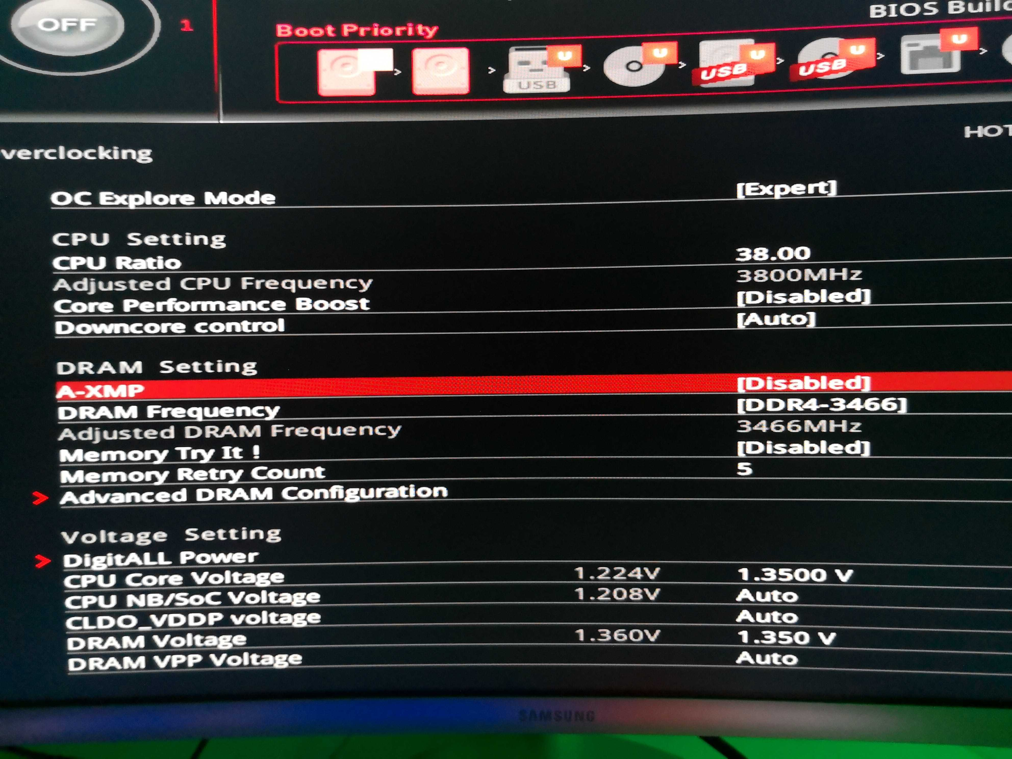 MSI X370 Gaming Pro Carbon experience - Page 43 - Overclock net - An