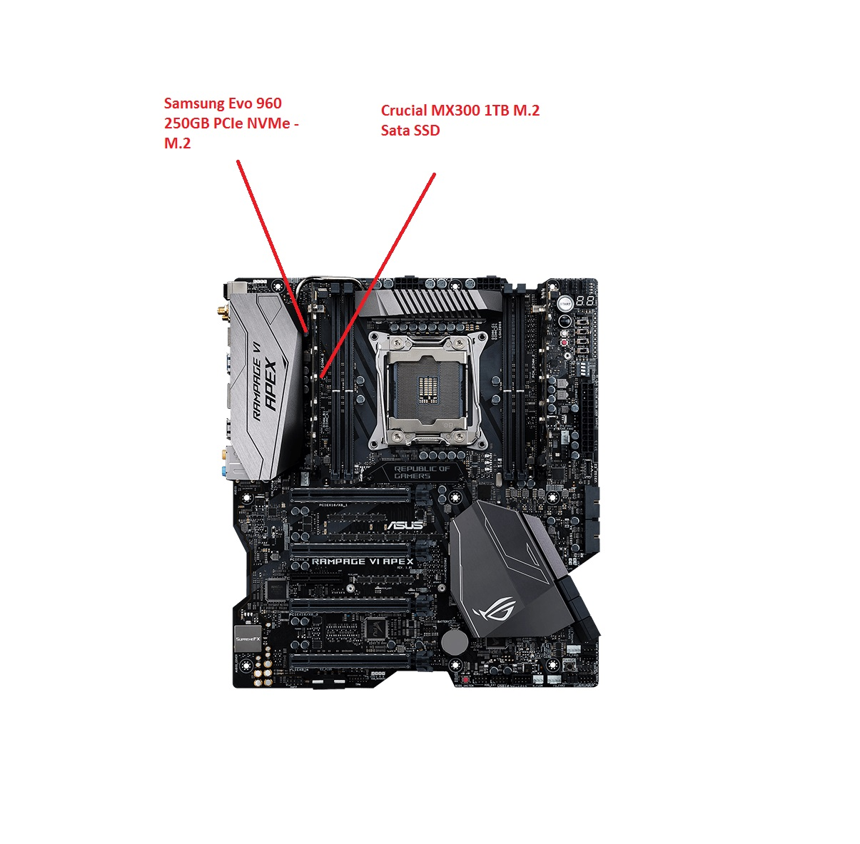 ASUS Rampage VI Apex (x299) Owners - Page 64 - Overclock net