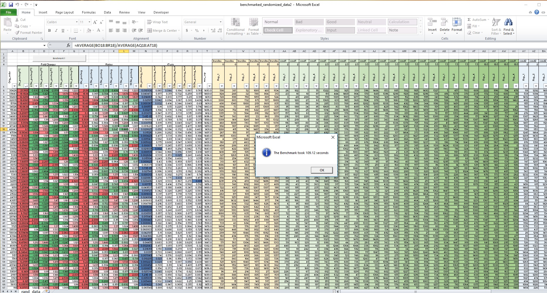 Excel Benchmark - Page 5 - Overclock net - An Overclocking Community