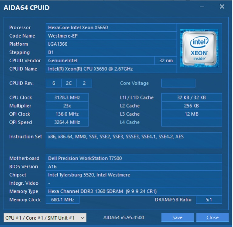 How To : Overclocking Dual Xeon Dell Precision T7500