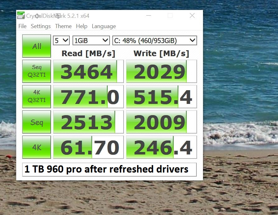 Samsung 960 PRO / EVO Owners Club - Page 160 - Overclock net
